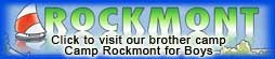 click to visit our brother camp, Camp Rockmont for Boys